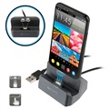 4smarts GravityDock Lightning & MicroUSB Magnetisches Dockingstation - 10.5W