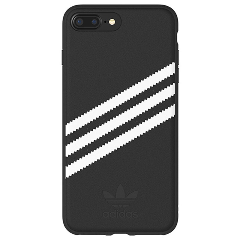 iphone 6 6s 7 8 plus adidas originals moulded h lle schwarz. Black Bedroom Furniture Sets. Home Design Ideas