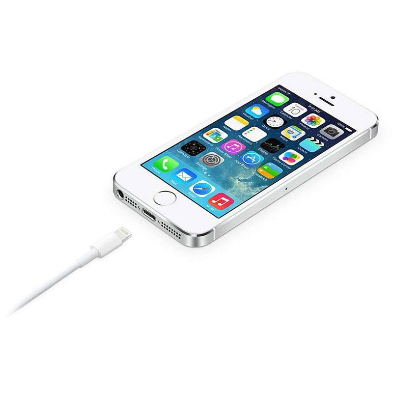 Apple MD819ZM/A Lightning / USB Kabel - iPhone, iPad, iPod - Weiß - 2m