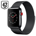 Apple Watch Series 3 LTE MR1V2ZD/A - Edelstahlgehäuse, Milanaise Armband, 42mm, 16GB - Dunkeloliv/Spacegrau