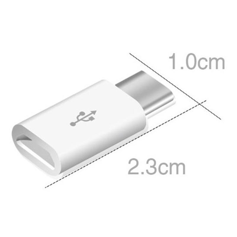 Laden & Synchronisieren MicroUSB / USB-C Adapter