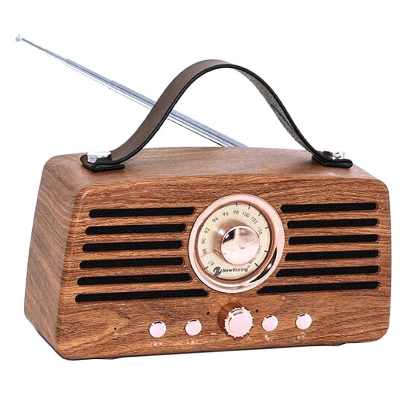 Creative Retro FM Radio Bluetooth Lautsprecher - Braun