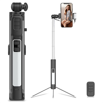 Cyke A18 Multifunktionaler 4-in-1 Bluetooth Selfie Stick