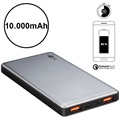 Goobay Quick Charge Powerbank - Dual USB, Typ-C - 10000mAh