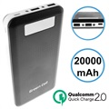 Green Cell PB93 Qualcomm QC 2.0 Powerbank - 20000mAh - Schwarz