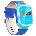 Kids GPS Tracking Smartwatch mit Hands-Free Q70 - Blau