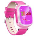Kids GPS Tracking Smartwatch mit Hands-Free Q70 - Rosa