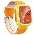 Kids GPS Tracking Smartwatch mit Hands-Free Q70 - Gelb