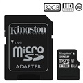 Kingston Canvas Select MicroSDHC Speicherkarte SDCS/32GB - 32GB