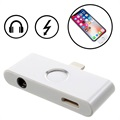 iPhone X Lightning & 3.5mm Audio Adapter mit Funktionstaste