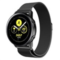 Samsung Galaxy Watch Active Magnetisches Milanaise Armband