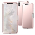 Moshi StealthCover iPhone XS Max Flip Hülle - Rosa