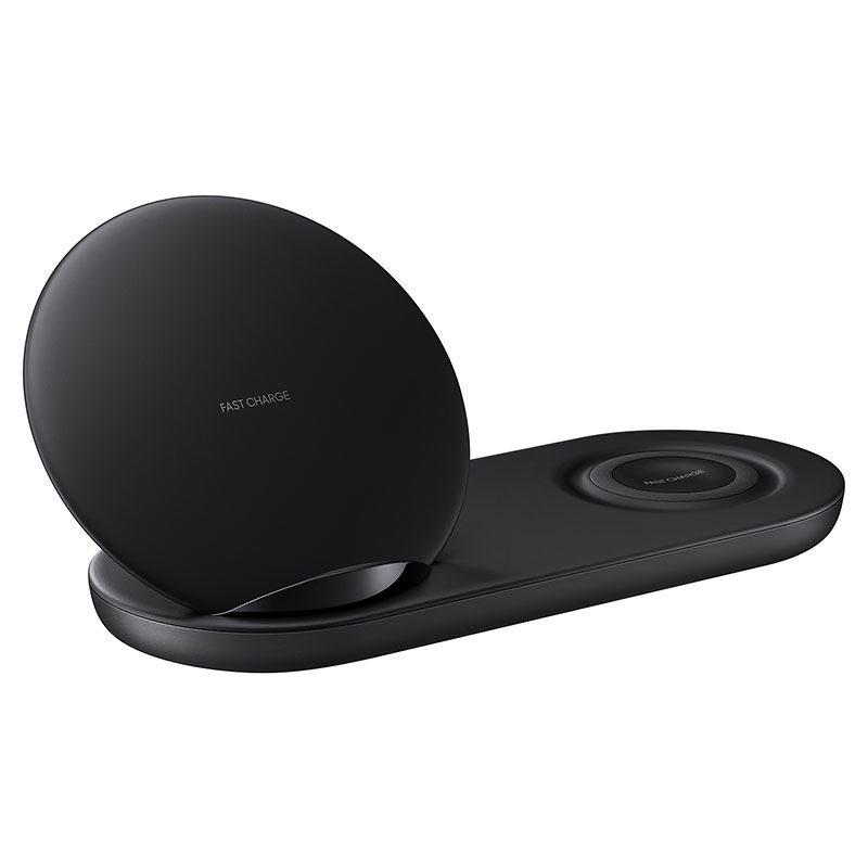 samsung ep n6100tbegww wireless charger duo schwarz. Black Bedroom Furniture Sets. Home Design Ideas