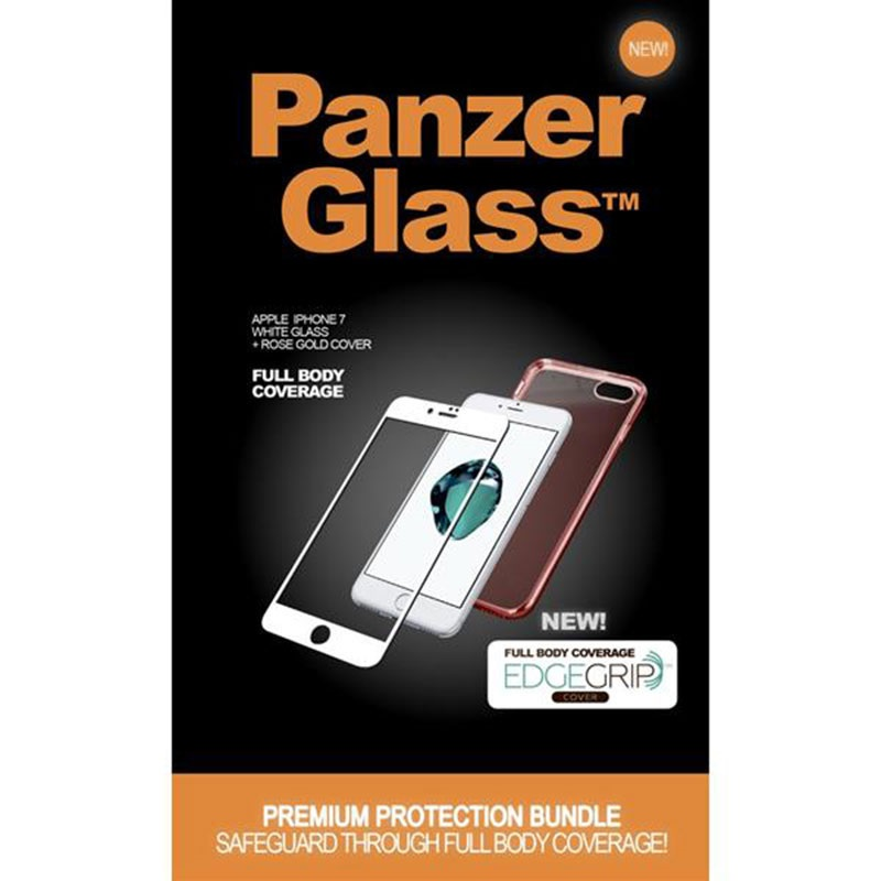 iphone 7 panzerglass premium schutz set. Black Bedroom Furniture Sets. Home Design Ideas