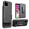 Patterned Series iPhone 11 Pro Max Hülle mit Gürtelclip - Schwarz
