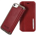 iPhone 7 / iPhone 8 Pierre Cardin Leder Flip Case