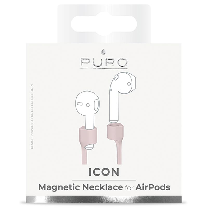 Puro Icon Magnetisches Airpods Silikonband