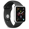 Puro Icon Apple Watch Series 5/4/3/2/1 Silikon Armband - 38mm, 40mm