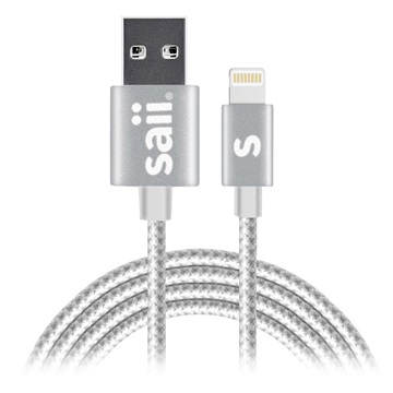 Saii Lightning Kabel - iPhone, iPad, iPod - 1.2m