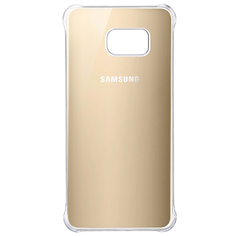 original samsung galaxy s6 edge glossy h lle in gold. Black Bedroom Furniture Sets. Home Design Ideas