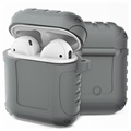 AirPods / AirPods 2 Silikonhülle - Shockproof Armor - Grau