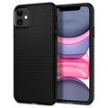 Spigen Liquid Air iPhone 11 TPU Hülle - Schwarz
