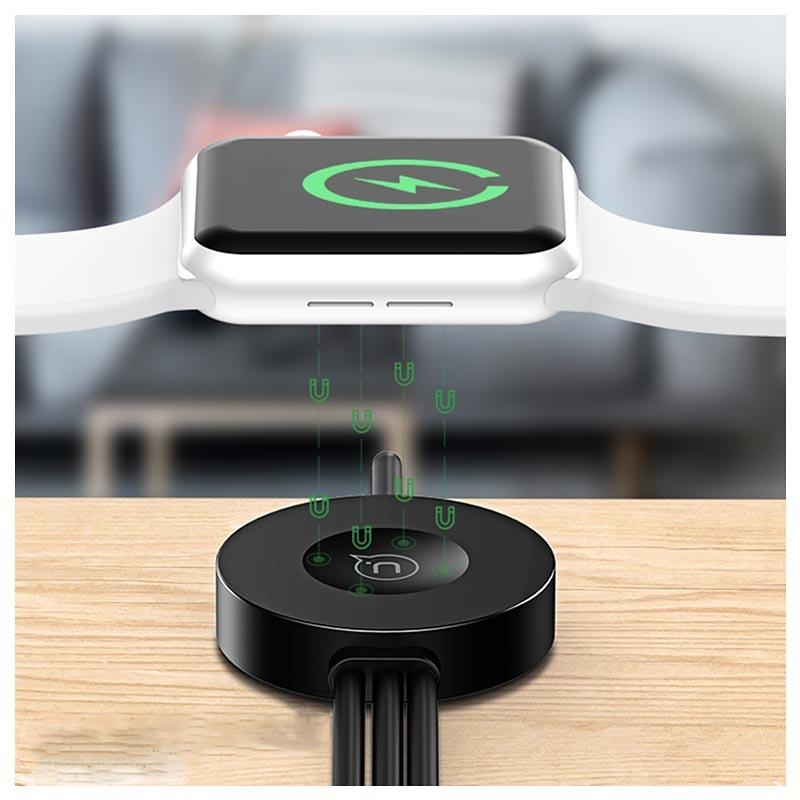 Usams CC088 Apple Watch Ladegerät 3 in 1 Kabel 1.2m Schwarz