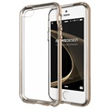 iPhone 5 / 5S / SE VRS Design Crystal Bumper Series Schale - Glanzgold