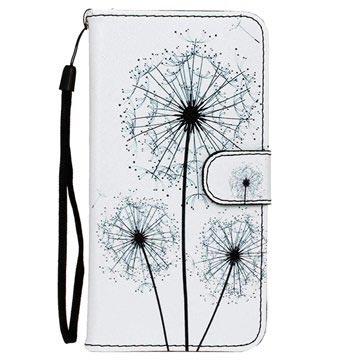 Tasche Geldbörse Pusteblume Sony Xperia Dual Z5Z5 K1cFJl
