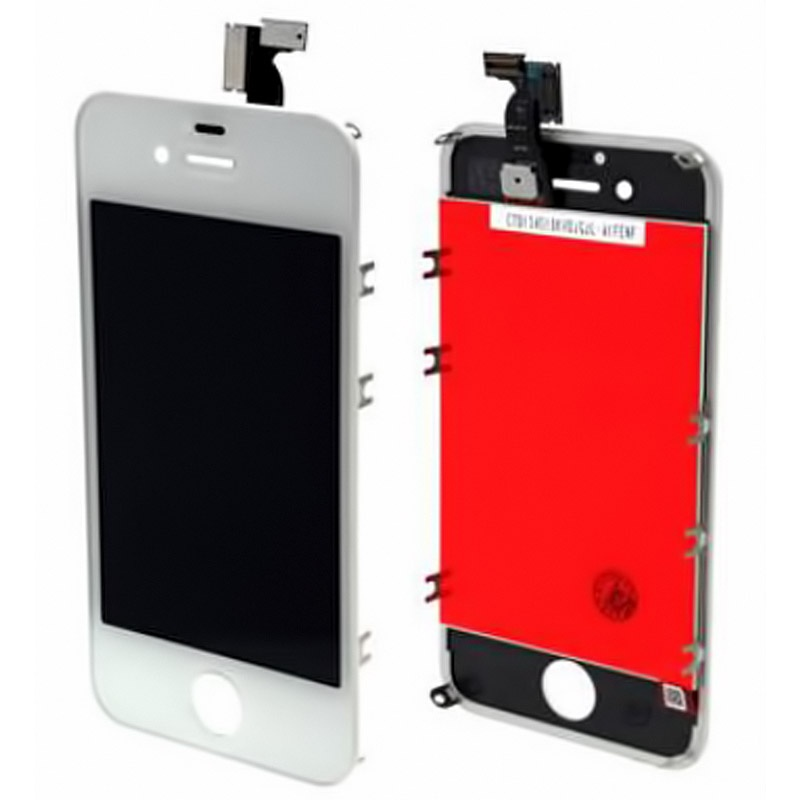 iphone 4s lcd display weiss. Black Bedroom Furniture Sets. Home Design Ideas