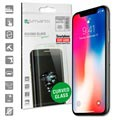 iPhone X / iPhone XS 4smarts Curved Glass Displayschutz