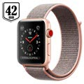 Apple Watch Series 3 LTE MQKT2ZD/A - Aluminium­gehäuse, Sport Loop, 42mm, 16GB - Gold/Sandrosa