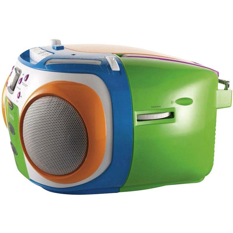 Musik Player Kinder lenco scr-970 kinder tragbarer musik-player - cd / mp3 / wma - bunt