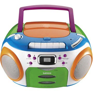Musik Player Kinder lenco scr-970 kinder tragbarer musik-player - cd / mp3 / wma - bunt
