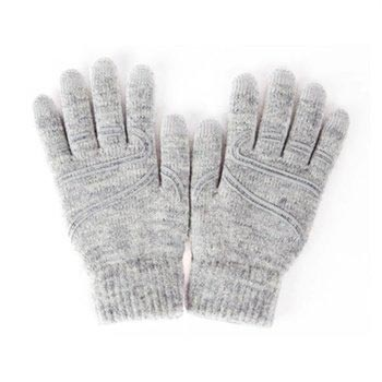Moshi Digits Touch Screen Handschuhe - Hellgrau - M/S
