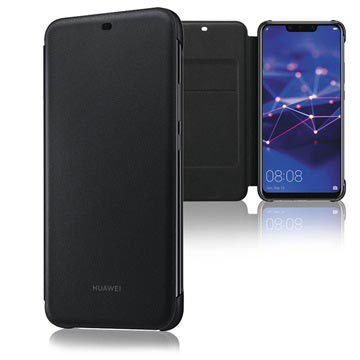 Huawei Mate 20 Lite Wallet Cover 51992567 - Schwarz
