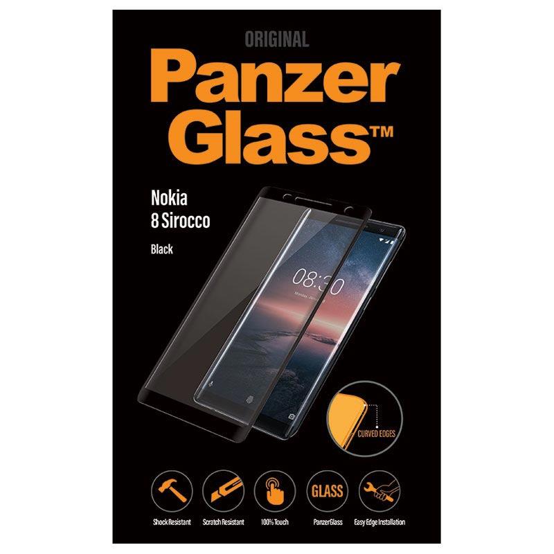 PanzerGlass Premium Nokia 8 Sirocco Panzerglas Schwarz