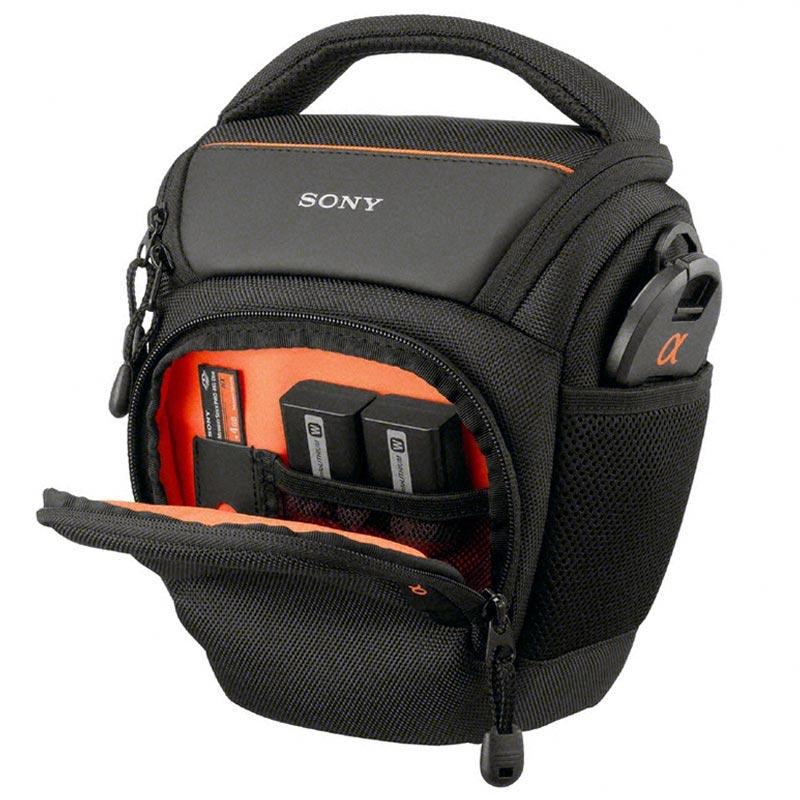Sony Amb Gepolsterte Lcs Alpha Tasche Schwarz K1JlFc